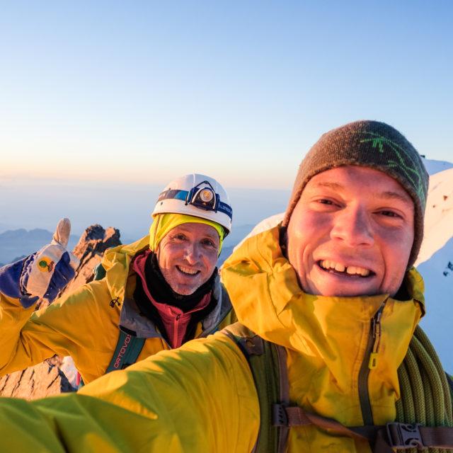 Hochtour mit Raphi Moser von upward