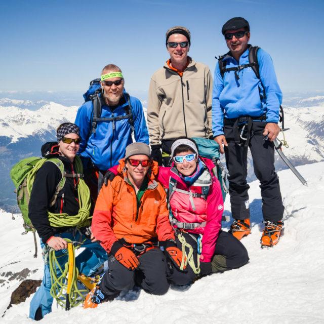 Skitour mit upward